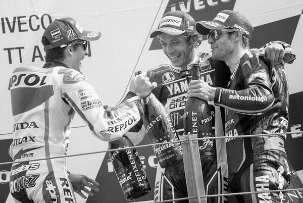 podium MotoGP assen 2013