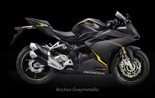 CBR250RR 2016 Anchor Graymetalic